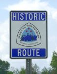 Selma Hostoric Route sign